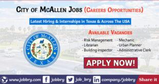 City of McAllen Jobs